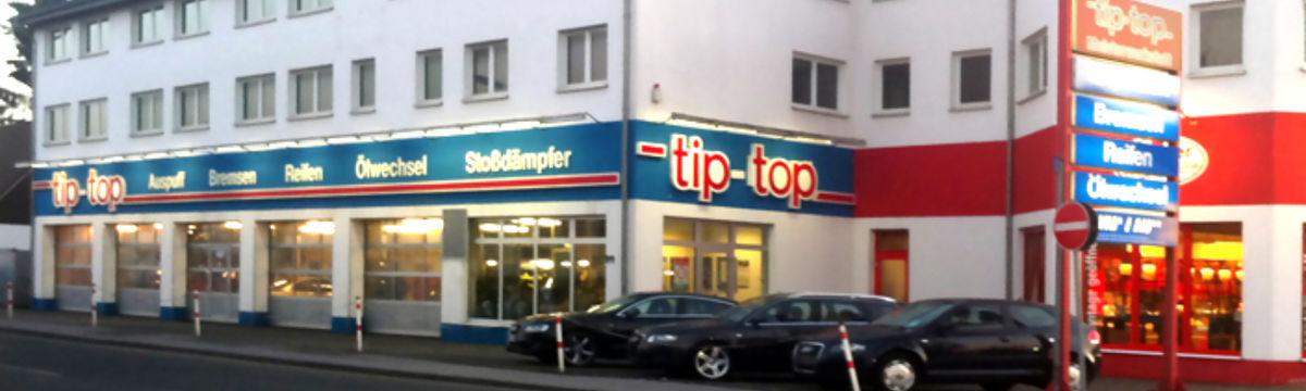 Tip Top Kfz-Meisterwerkstatt Menden - Außenansicht